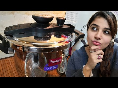 Unboxing Review of Prestige clip on pressure cooker (in hindi) | Non sponsored video