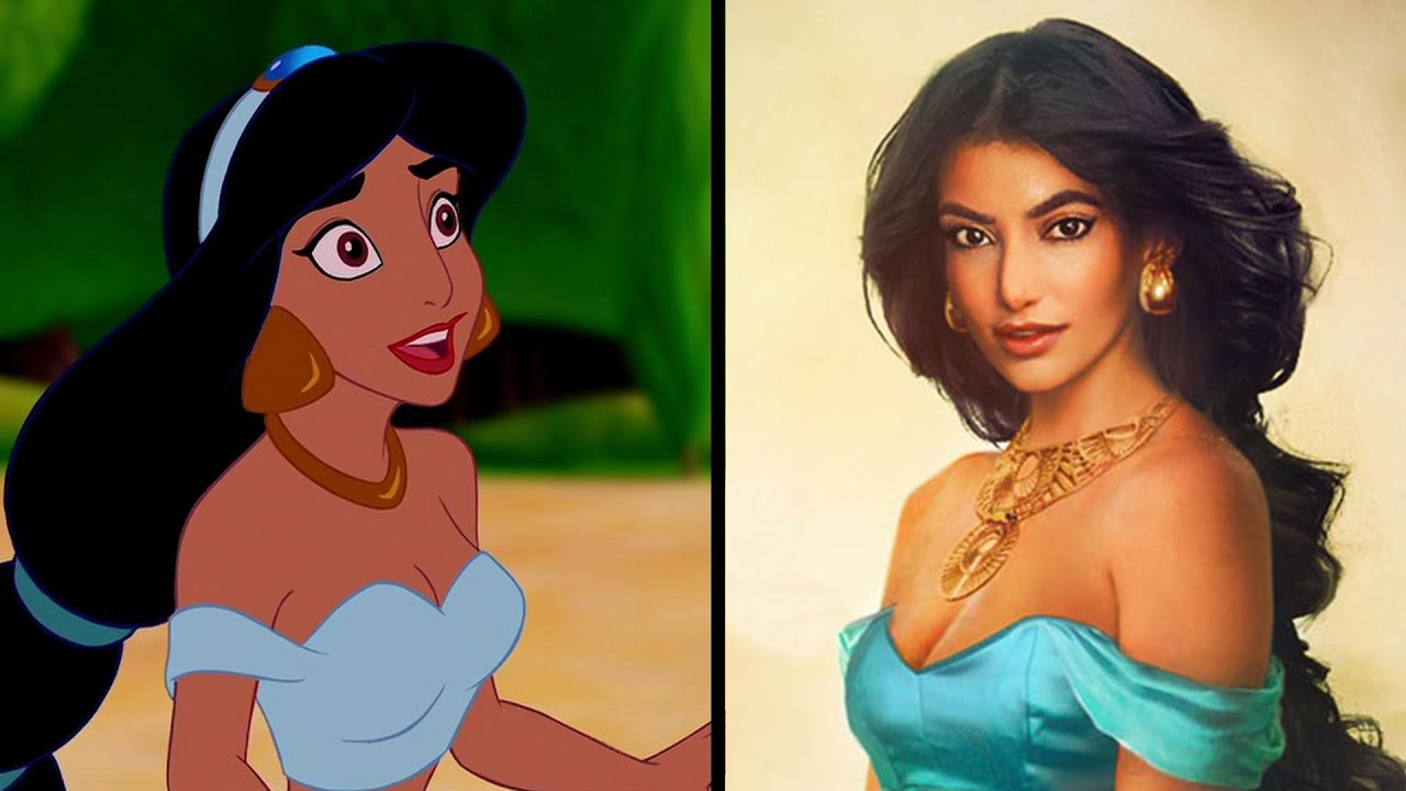 this is what disney princesses would look like in real