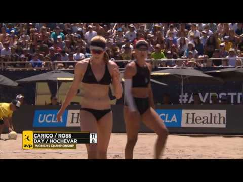 AVP Manhattan Beach Open 2016 Women's Finals: Day/Hochevar vs Carico/Ross
