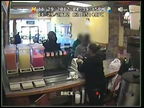 American Deli Armed Robbery, Shooting