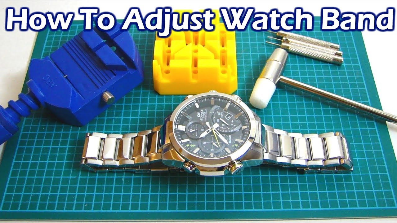How to Remove Watch Links for a Better Fit -TheTrendSpotter
