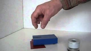 видео Прибор для испытания покрытия на изгиб NOVOTEST ИЗГИБ