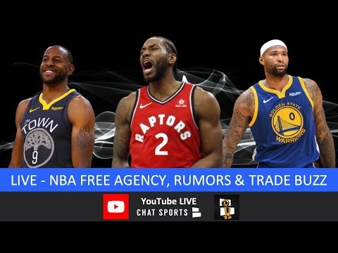 NBA Free Agency: Kawhi Leonard Watch, Andre Iguodala Trade, Rumors, Signings, News & Lakers