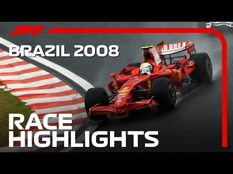 Lewis Hamilton Wins First World Title | 2008 Brazilian Grand