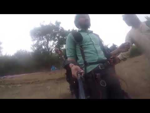 Indian Man Funny Para Gliding Viral Video
