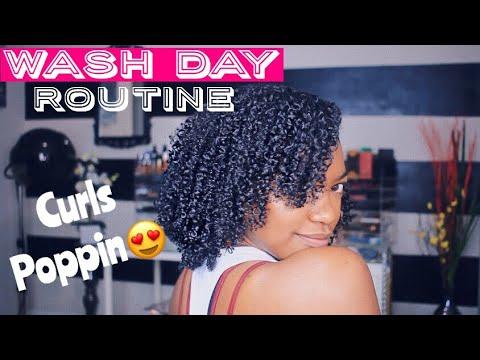Watch me do my Wash N Go ROUTINE!!! High Density, Low Porosity 3C Hair
