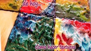 COMO HACER TEXTURAS CON EFECTO ESMALTADO  2/3