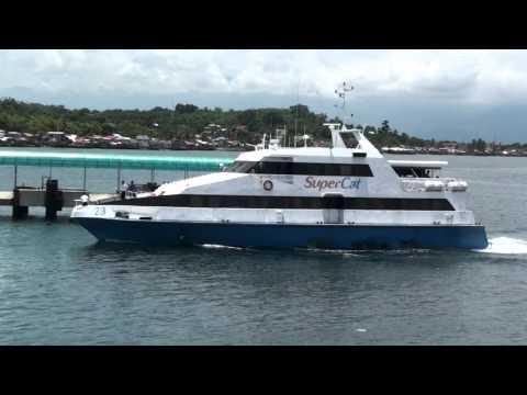 SuperCat 23 docking at Calapan Port.m2ts