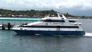 SuperCat 23 docking at Calapan Port.m2ts