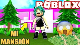 I COST ALL MY MONEY IN BLOXBURG'S BIGEST MANSION in ROBLOX 😱