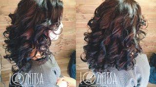 Укладка волос средней длины своими руками: Фото и видео