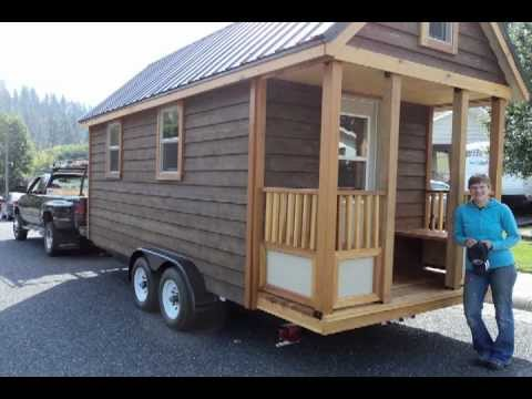 My tiny house on wheels youtube Tiny little houses on wheels