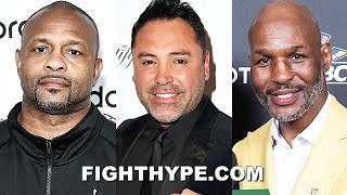 HALL OF FAMERS & LEGENDS PREDICT LOMACHENKO VS. LOPEZ: DE LA HOYA, JONES, HOPKINS, & MORE