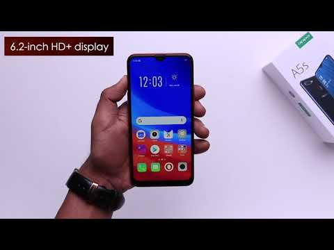 OPPO A5s: Unboxing   Hands on   Price [Hindi हिन्दी] - YouTube