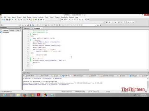 String Concatenation C Programming