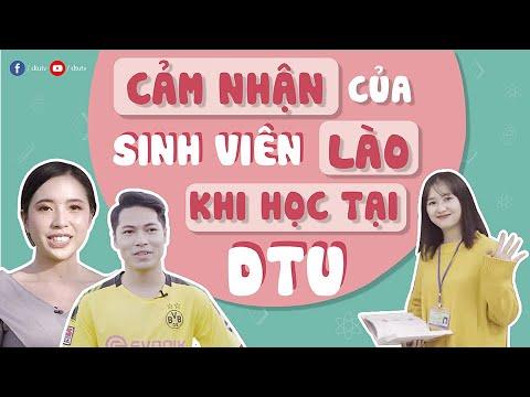 [dtuTV] Cảm nhận của các bạn sinh viên Lào khi học tập tại Đại học Duy Tân