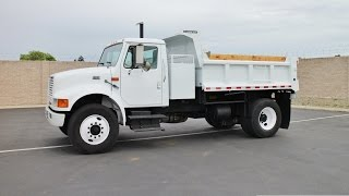 1998 International 4900 5 Yard Dump Truck for sale