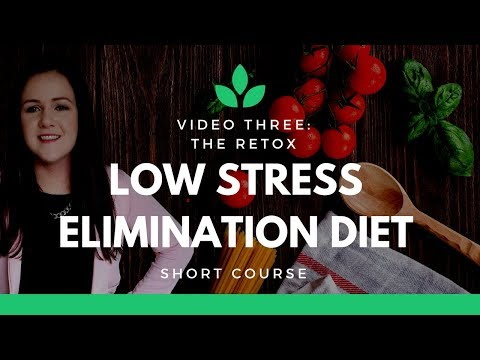 Low Stress Diet - Food Allergy Elimination Diet - Short Course [ Video Two ]