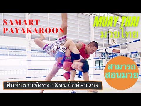 Elbow & Judo Takedown ( ชวาซัดหอก & ขุนยักษ์พานาง ) - Mae Mai Muay Thai With Samart Payakaroon