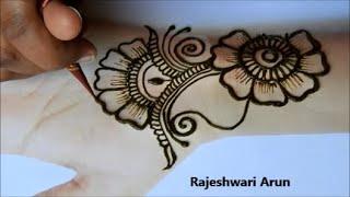 New Stylish  Arabic Mehndi Design For Hands * Simple Henna designs *Easy mehndi design for beginners