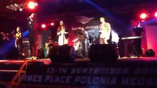 Cindy Carolina - HEALER (cover) Planetshakers at sunday service Sumatra Jazz Festival 2014.