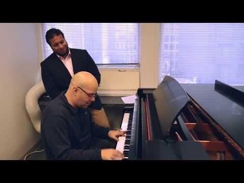 Just Once by James Ingram Cover by Dan Binstock (Piano) & Ashton Moran (Vocals)