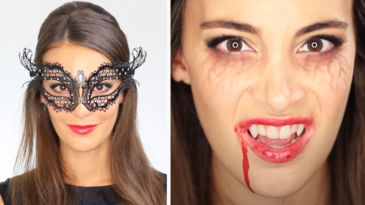 Tuto Maquillage Halloween Vampire Diaries Katherine Pierce Masquerade Ball Youtube