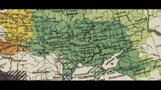 УКРАИНЦЫ на карте Любора Нидерле 1912 года