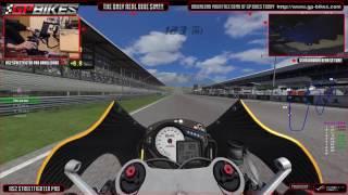 GP BIkes Moto3 at A1 Ring practice