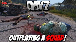 DayZ 1.01 - Outplaying A Squad!