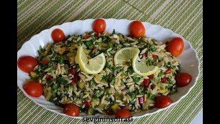 Arpa şehriye Salatası Tarifi, Nasıl Yapılır? Sevgininsofrasi