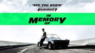Charlie Puth See You Again Solo Version Furious7