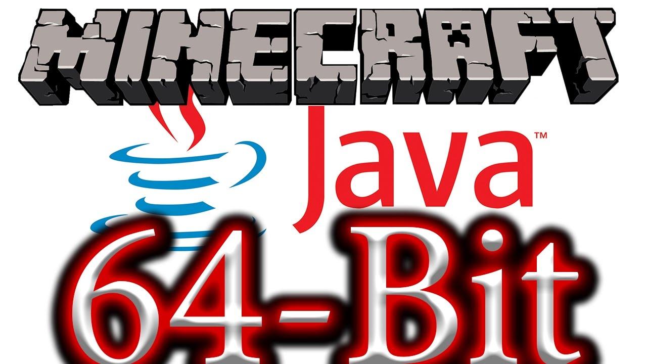 download java 64 bit for minecraft windows 10