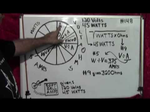 NEC Electrical formulas for voltage #3 A #148 - YouTube