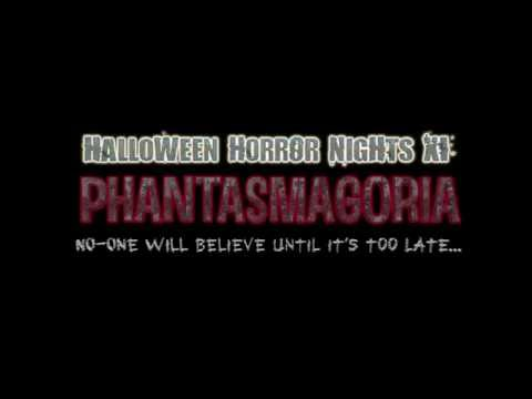 Halloween Horror Nights XI - Phantasmagoria