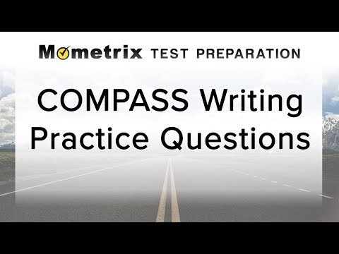Free COMPASS Writing Practice Quiz
