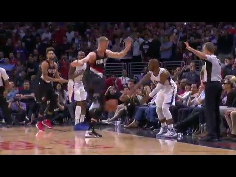 JJ Redick Nails A Game-Winning Jumper To Sink The Trail Blazers!
