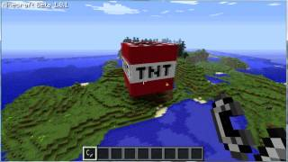 Repeat youtube video Minecraft biggest TNT explosion ever