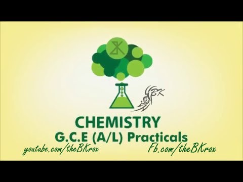 Chemistry - G.C.E (A/L) Practices in Sinhala by BK (රසායන වි
