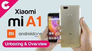 Xiaomi Mi A1 Unboxing & Overview - Android One Smartphone
