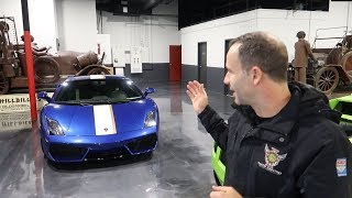 PICKING UP OUR NEW LAMBORGHINI GALLARDO - HAPPY NEW YEAR Official Collection Video!!!
