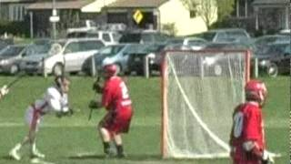 Into the Fire - lacrosse in action