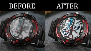 How to Clean Wrist Watch / Remove Scratches from Wrist Watch Easily