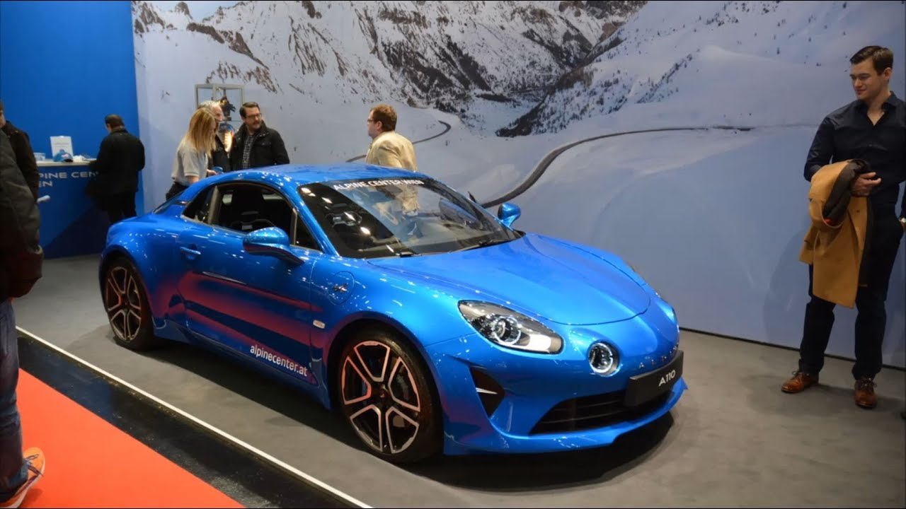 renault alpine a110 premiere edition vienna autoshow 2018 youtube. Black Bedroom Furniture Sets. Home Design Ideas