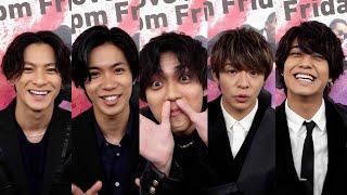 MUSIC STATION:キンプリメンバーが最近ドキッとした事を発表…!【Mステ】
