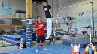 Gymnastics Bars Moves | Gymnastics Lessons