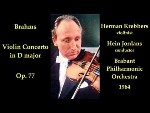 Brahms Violin Concerto -  Herman Krebbers, Hein Jordans