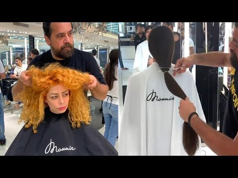 Extreme Haircuts and Beautiful Transformations By Mounir 😍 Professional Hairstyles Tutorials