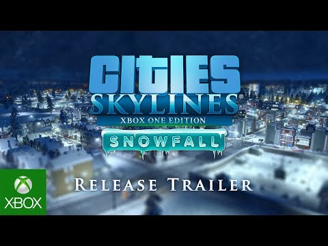Cities: Skylines - Xbox One Edition, Snowfall Release trailer