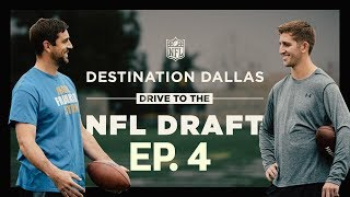 Aaron Rodgers Mentors Josh Rosen & Prospects Get Advice from NFL Players | Drive to the Draft Ep. 4